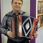 Гармонист Александр Ганичев