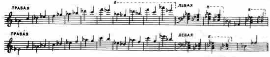 Звукоряд саратовской гармоники