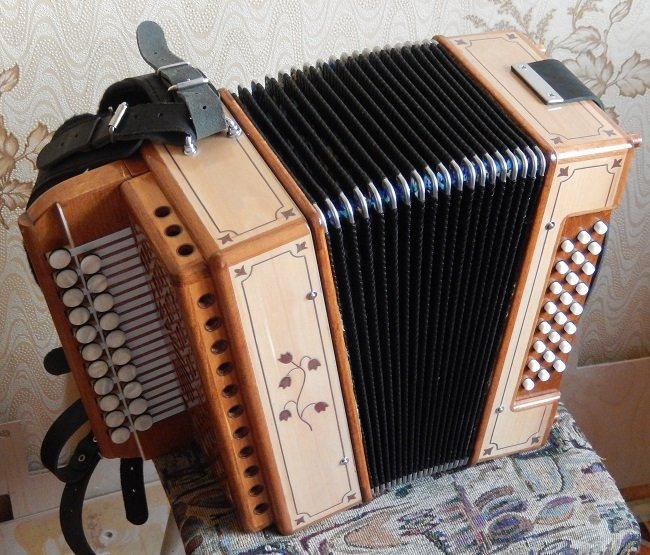 303Настройка аккордеона своими руками