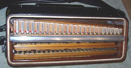 Современный аккордеон с ломаной декой(Casotto)