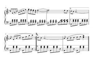 Белоруссия(ноты для гармони).Часть 2.