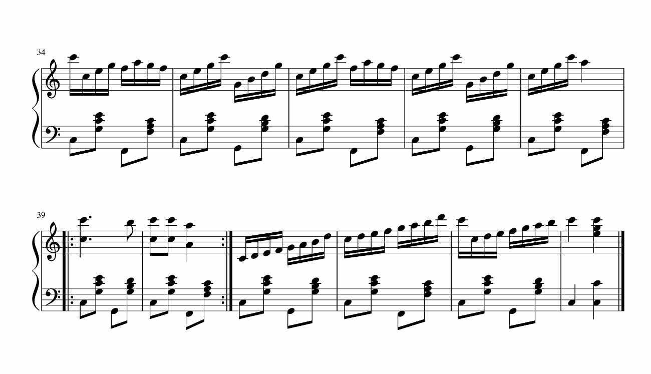 Барыня(самоучитель Бажилина). Ноты для гармони.2