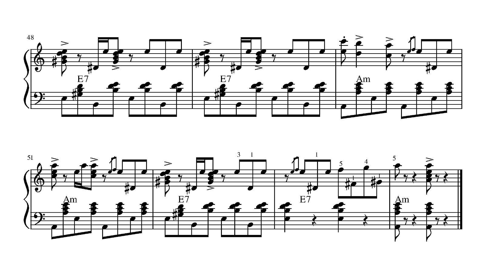 Теплоход(В.Добрынин). Ноты для гармони. Страница 3.