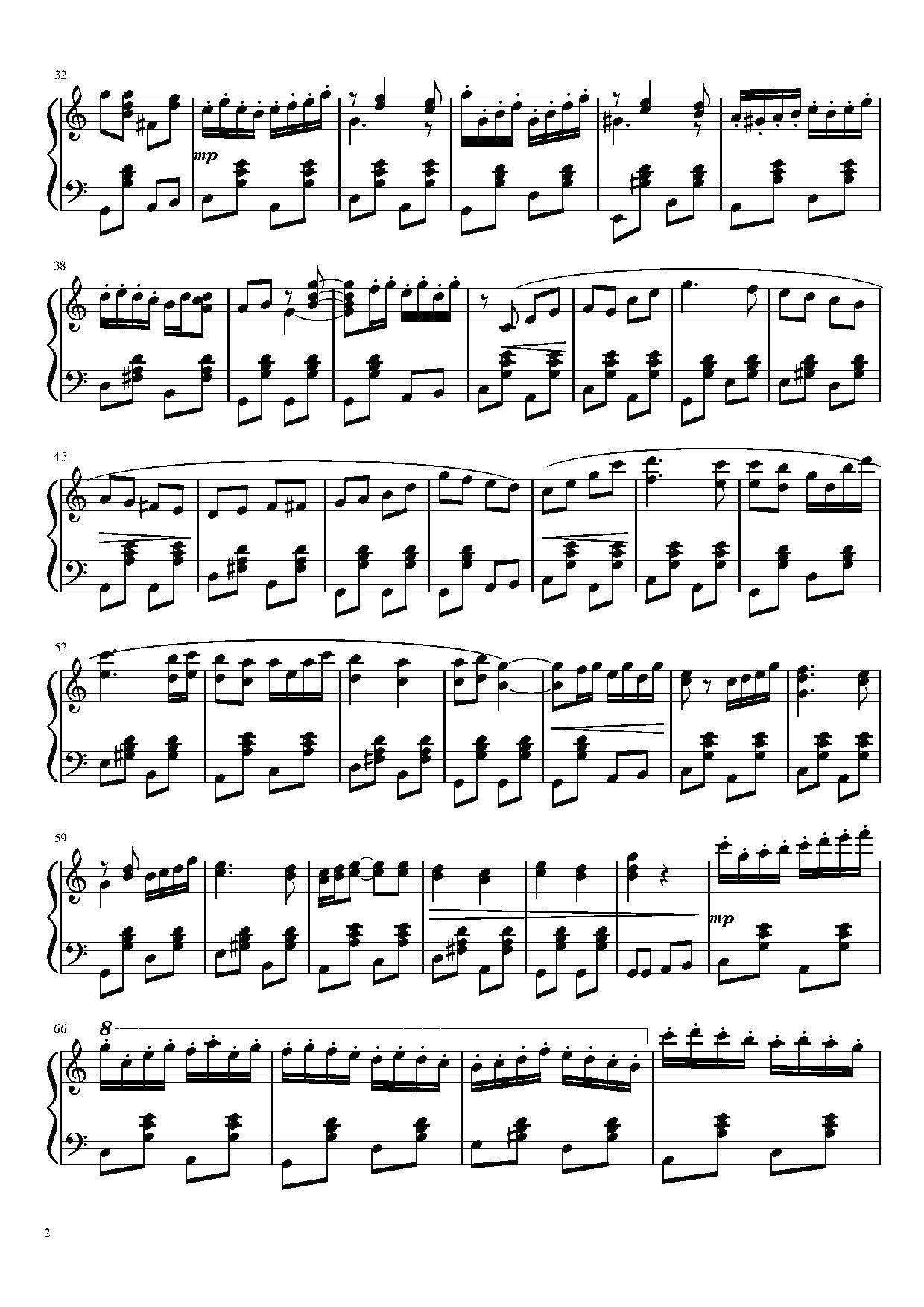 """""""Ох,досада...""""(ноты для гармони) часть 2"""